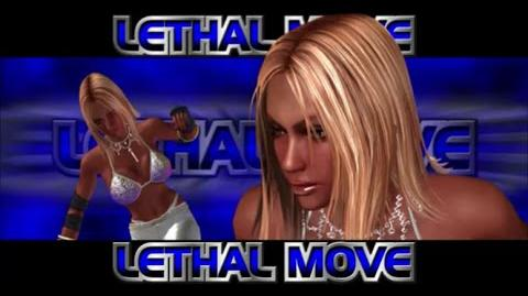 Rumble Roses XX - Aisha Lethal Move (No Holds Barred Combo)