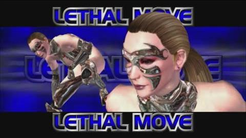 Rumble Roses XX - Lady X Substance Lethal Move (Doomsday)