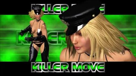 Rumble Roses XX - Sgt. Clemets Killer Move (Clemets Buster)