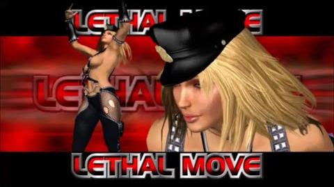Rumble Roses XX - SS Sgt. Clemets Lethal Move (Speed Buster II)