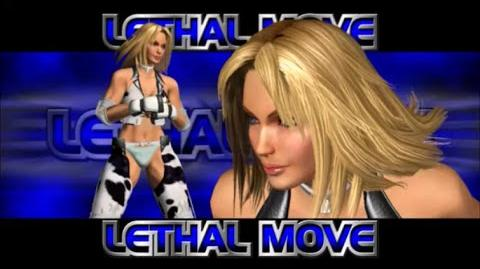 Rumble Roses XX - Dixie Clements Lethal Move (Dixie Buster)