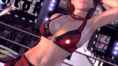 Rumble Roses XX - Reiko Hinomoto Entrance