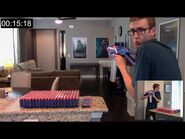 SHOOTING 430 NERF DARTS AS FAST AS POSSIBLE -1 - TACTICAL SPRAY & PRAY!