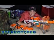 NERF STEREOTYPES - THE CAMPER