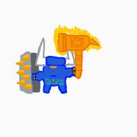 New Minotaur Warrior concept (1)