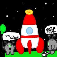 Child's Rocket!