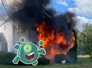 Duplicator commits arson
