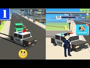 Let's Be Cops 3D gameplay walkthrough (ios-android game) - part 1