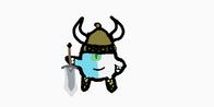 Viking Horn Warrior