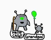 Child's Grandpa