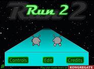 Run2 title screen