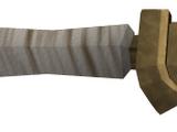 Bronze scimitar