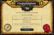 Rune Mysteries reward