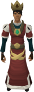 Royal set equipped (male)