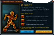 Agility popup