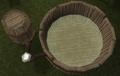 Fermenting vat 2 with Barley malt