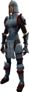 Ironman Armour equipped