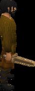 Bronze sword equipped