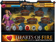 Treasure Hunter Heart of Fire interface