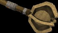 Bronze mace detail