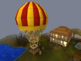 Balloon transport system