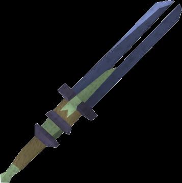 Espada 2m de argonita