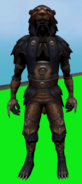 Lion outfit equipped (male)