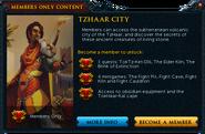 Tzhaar City popup