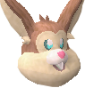 Easter Bunny Head 2