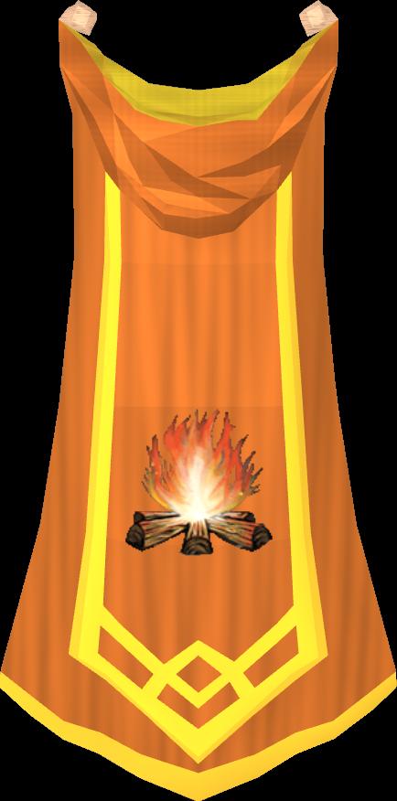 Capa de Mestre de Arte do Fogo