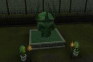 Deathcon II Skull Hedge