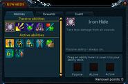 Cabbage Facepunch Bonanza rewards (abilities)