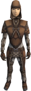 Soft leather armour (gloves) (female) equipped