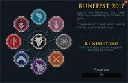 Runefest 2017 task list (Incomplete) interface