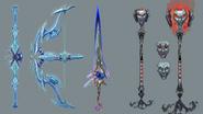 Telos God weapons concept art