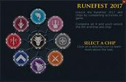 Runefest 2017 task list interface