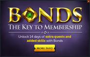 Bonds ingame popup