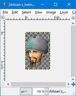 GIMP - flip tool example1.png