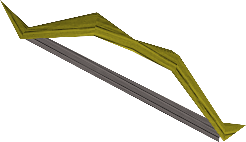 Arco curto de teixo