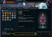 Powers (Prayers) interface