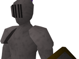 Replica metal plate armour