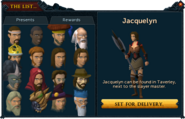 Sack of presents interface