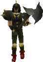 Dharok the Wretched's equipment equipped