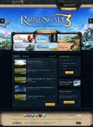 Runescape homepage
