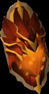 Escudo de fogo do dragão