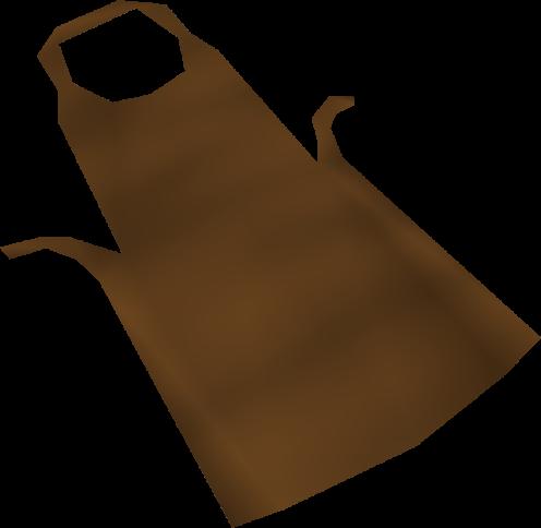 Avental marrom