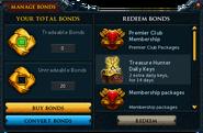 Manage Bonds (Premier Club Membership 2016)
