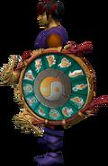Escudo do Zodíaco equipado