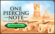 One Piercing Note popup