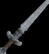 Steel 2h sword detail
